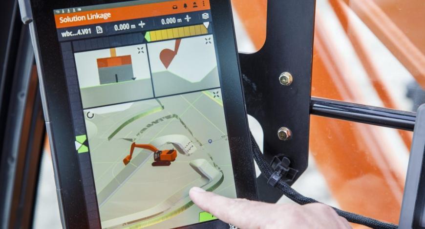 La pelle ZX210X-6 garantit une précision des mouvements inégalée grâce à l'asservissement de l'hydraulique.