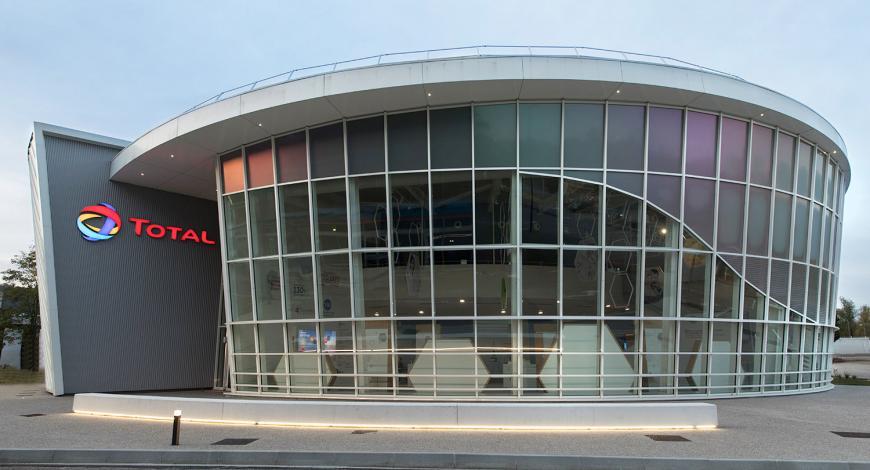 Centre de Recherche de Total à Solaize.