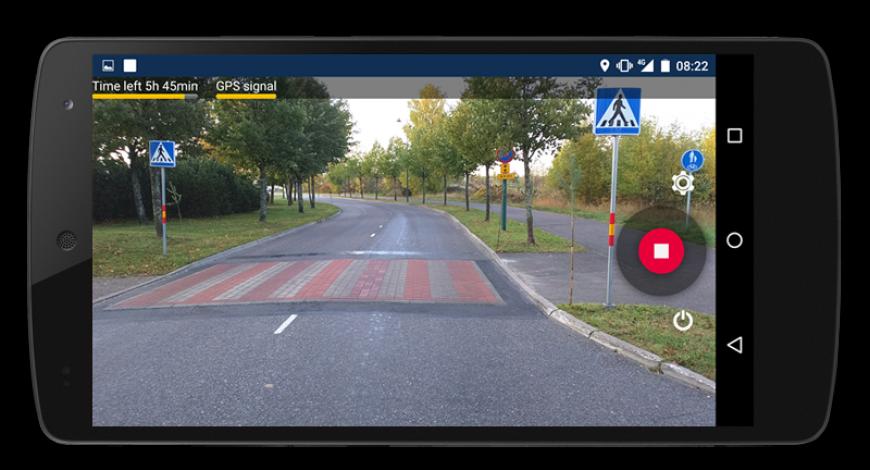 RoadAI : une application d'acquisition des données routières.