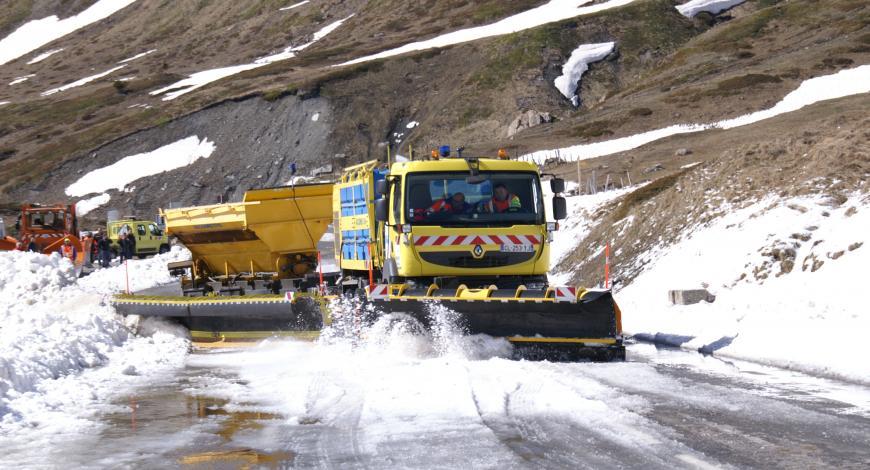 Réouverture du col du Mont-Cenis en 2016.