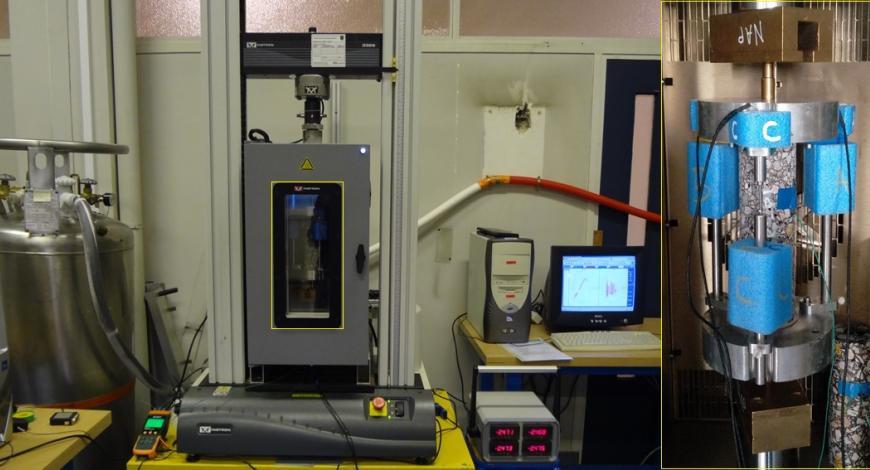 Dispositifs des essais à basse température.