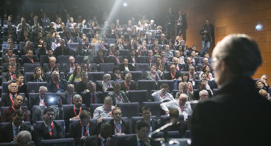 Intervention d'Élisabeth Borne lors des Rencontres de la mobilité intelligente.