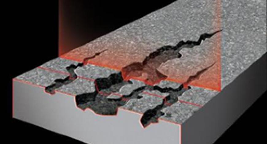 Le LCMS (Laser Cracks Measurement System) est un capteur à balayage laser fourni par la société Pavemetrics, issu de l'Institut national d'optique du Québec (INO).