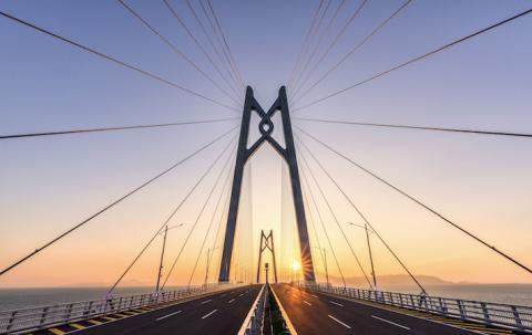 Le pont de Rion-Antirion, en Grèce.