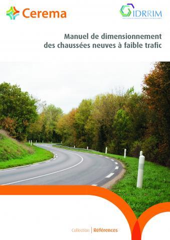 Le Manuel de dimensionnement des chaussées neuves à faible trafic, rédigé par l'Idrrim et publié par le Cerema, s'adresse à tous les acteurs en charge de la construction de chaussées neuves pour des routes faiblement circulées.