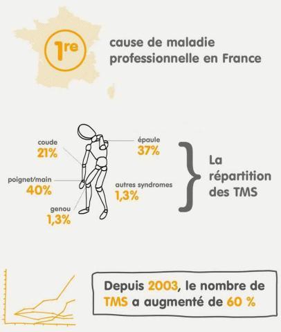 Les principales TMS en France.