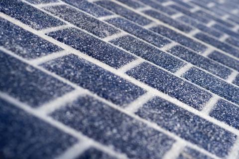 Le revêtement routier photovoltaïque Wattway.