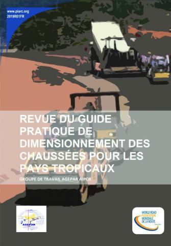 Couverture de la Revue du Guide pratique de dimensionnement des chaussées pour les pays tropicaux.