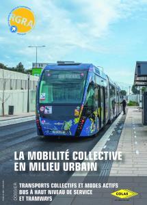 Colas a participé à la réalisation de la ligne T2 du bus à haut niveau de service de Nîmes mis en service en 2020.
