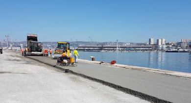 Les sédiments marins peuvent être valorisés dans des produits routiers à forte valeur ajoutée, comme le béton compacté routier.