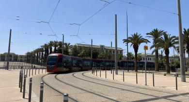 Colas Rail a réalisé les travaux d'électrification de la ligne 2 du tramway de Casablanca.