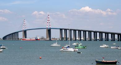 Le pont de Saint-Nazaire, à la pointe de l'innovation en matière de lutte contre la congestion routière.