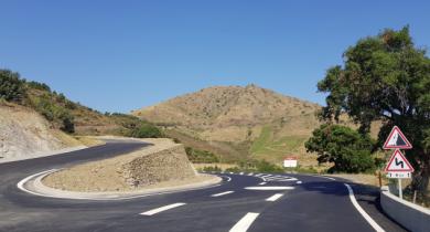 Un des projets lauréats du prix IMBP : aménagement de RD 914 entre Banyuls sur Mer et Cerbère.