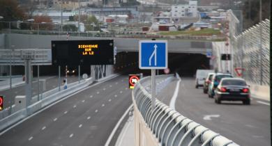 Rocade L2 de Marseille.