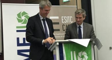 Une chaire « Travaux offshore et EMR » à l'ESITC Caen.