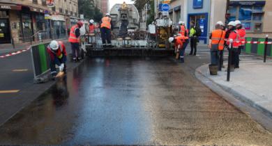 Paris inaugure ses premières voies anti-bruit et anti-chaleur.